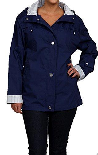 Rennie Mackintosh Women's Water-resistant Hooded Jacket -...
