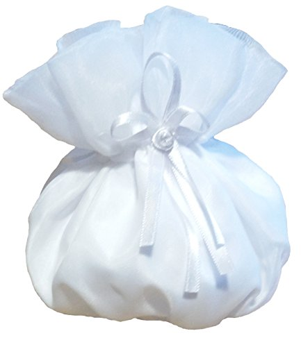 BiancoEvento, Borsetta da polso donna Bianco bianco Taglia unica