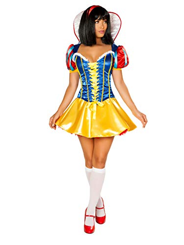 (Roma Costume 2pc Pure as Snow, Blue/Red/Yellow,)