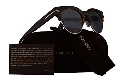 cf9cc34732e Tom Ford FT0598 Henri-02 Sunglasses Colorful Havana w Blue Lens 55V TF598 -