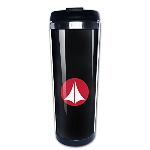 Beaufiy Robotech Macross Symbol Logo Stainless Steel Travel Tumbler Coffee Mug Black