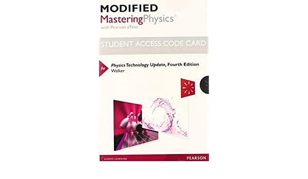 Amazon modified masteringphysics with pearson etext amazon modified masteringphysics with pearson etext standalone access card for physics technology update 4th edition 9780321906540 james s fandeluxe Gallery