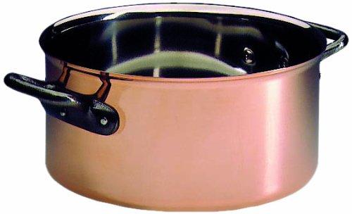Matfer bourgeat Cobre Cazuela Sin tapa 77/20,3cm