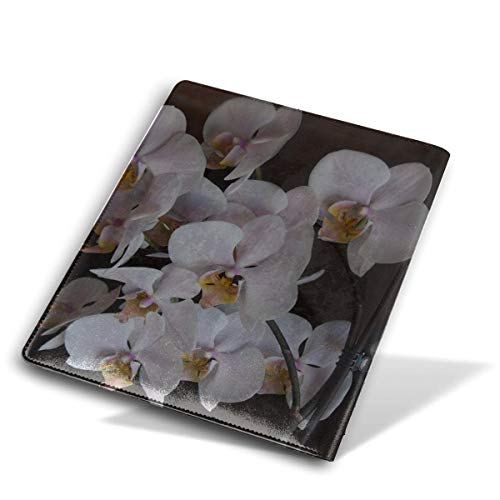 - 9x11 Inch Orchids Flowers Pink Comic Book Covers Leather The Protector Book Reusable Sox Book Cover Soft Cover for Schoolbooks Notebooks Textbooks Men Women