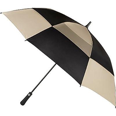 totes Auto Open Vented Golf Stick Umbrella