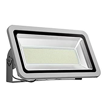 Coolkun 10/20/30/50/100/150/200/300/500W LED Flood Lights,Super Bright Work Lights, Outdoor and Indoor IP65 Waterproof Security Light for Garage, Garden, Lawn and Yard (500W Daylight White)