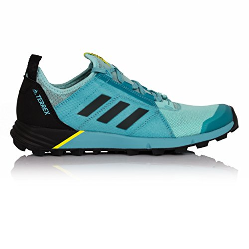 adidas Terrex Agravic Speed W, Zapatillas de Senderismo Para Mujer, Varios Colores (Agucla/Negbas/Azuvap), 38 EU