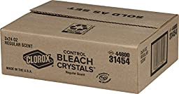 Clorox Control Bleach Crystals, Regular, 72 Ounces( 3 x 24 Ounces)