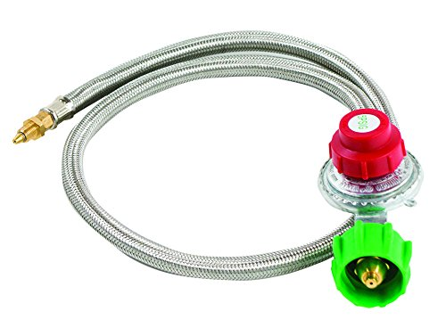 bayou-classic-m5hpr-0-5-psi-adjustable-regulator-with-stainless-braided-hose