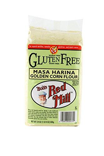 Bob's Red Mill Gluten Free Golden Masa Harina Corn Flour, 24-ounce Masa Harina Tortilla