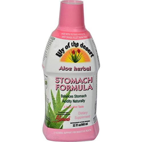 dolly2u Lily of the Desert Aloe Herbal Stomach Formula Fresh Mint - 32 fl oz - Desert Herbal Stomach Formula