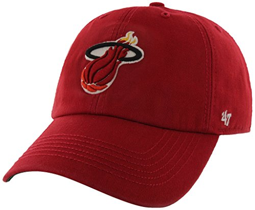 NBA Miami Heat '47 Brand Franchise Fitted Hat, X-Large, Red