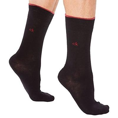 Calvin Klein Harry 2 Pack Mens Socks Black