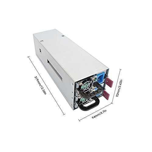 KKmoon 2600W Switching Power Supply 94% High Efficiency for Ethereum S9 S7 L3 Rig Mining 90-260V by KKmoon (Image #2)