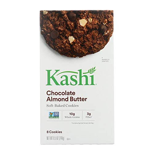 - Kashi Chocolate Almond Butter Cookies - Almond - Case of 6 - 8.5 oz.