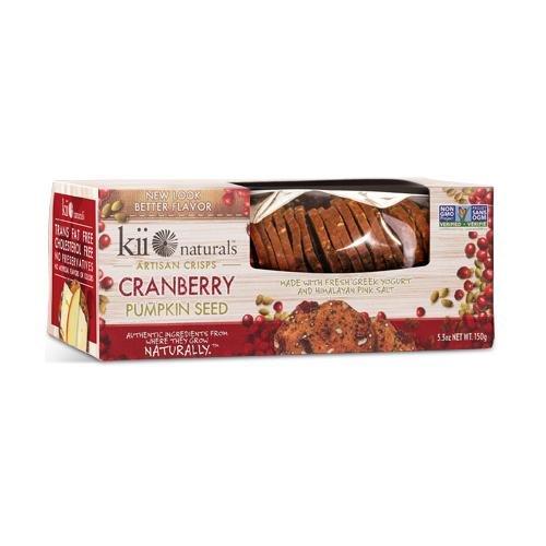 Kii Naturals, Cranberry Pumpkin Seed Crisps , (4-pack)