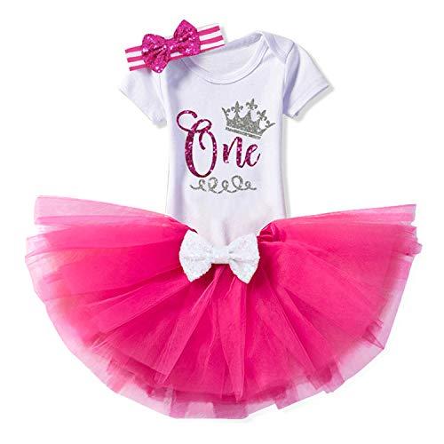 TTYAOVO Girl Newborn 3pcs Baby Girls Skirt Birthday