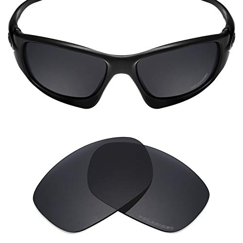 Mryok+ Polarized Replacement Lenses for Oakley Ten X - Stealth ()