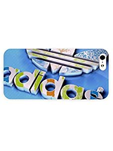 3d Full Wrap Case for iPhone 5/5s 3d - Logo Adidas