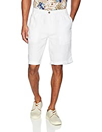 "Men's Relaxed-Fit 11"" Inseam Linen Short with Drawstring"