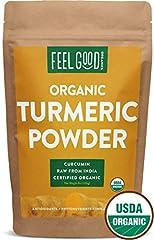 Certified USDA Organic Turmeric Powder (Curcuma longa)              Turmeric powder is produced from pure turmeric rhizomes and is packed with curcumin, a strong antioxidant with powerful anti-inflammatory properties. T...