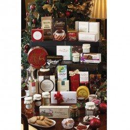 the irish christmas hamper basket
