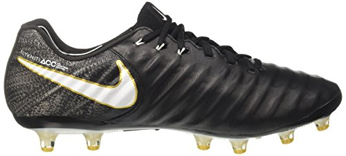 Nike Tiempo Legend Herren Vii Ag-pro Fußballschuhe Schwarz (nero / Bianco-nero-oro Metallizzato Vivido)