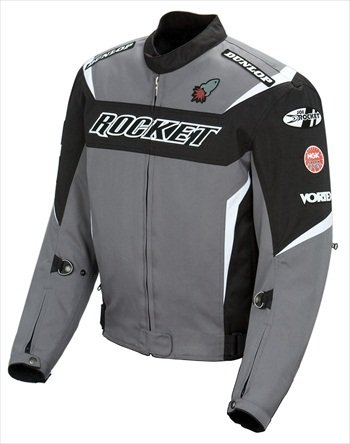 - JOE ROCKET UFO 2.0 MESH JACKET GRAY/BLACK/WHITE LG