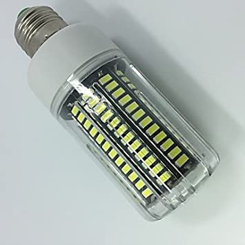 15W Bombillas LED de Mazorca T 138 SMD 5733 1300 lm Blanco Cš¢lido Blanco Regulable Decorativa AC 100-240 V 1 pieza: Amazon.es: Hogar