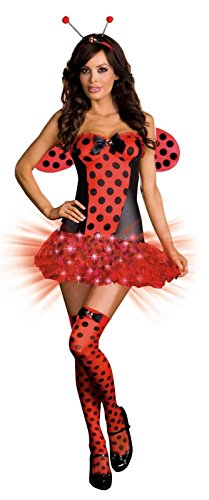 [Light Me Up Ladybug Adult Costume] (Light Me Up Ladybug Dress Costumes)