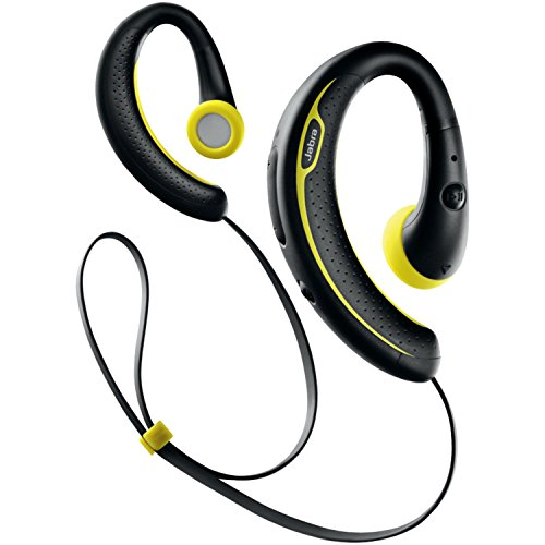 jabra sport plus wireless bluetooth stereo headphones retail packaging black yellow wireless. Black Bedroom Furniture Sets. Home Design Ideas