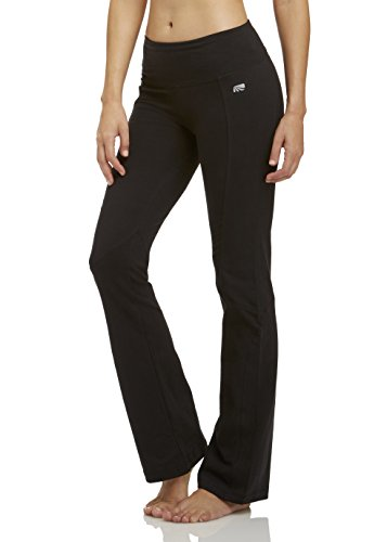 Marika Cotton Pants - Marika Women's Standard Ultimate Slimming Pant, Black, Large