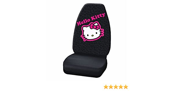 Plasticolor 006941R01 Hello Kitty Collage High Back Seat Cover