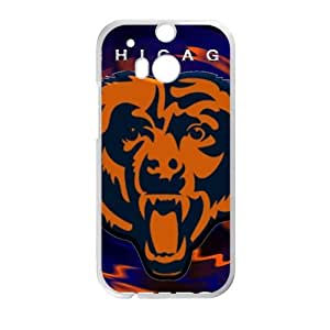 Chicago Bears Fashion Comstom Plastic case cover For HTC One M8