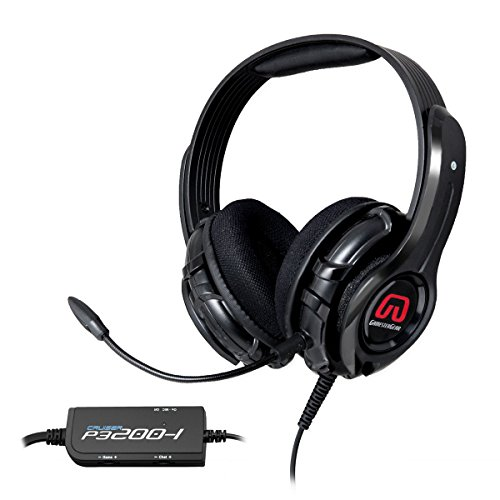 Gamestergear 57mm Speaker Driver Gaming Headset Detachable Mic., Exclusively for PlayStation 3/4, OG-AUD63085