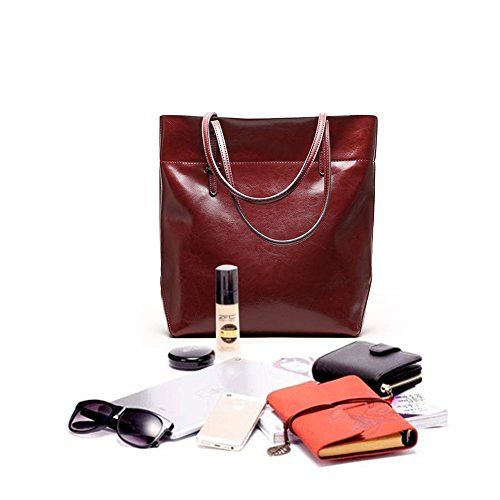 Borsa b red Wine rosso winered 018 Donna Mulier A B Mano Hb dxFXdqwP