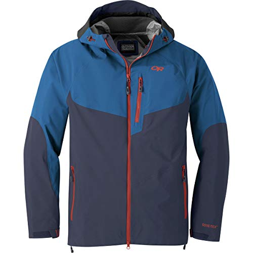 Outdoor Research Men's Hemispheres Jacket, Naval Blue/Cobalt