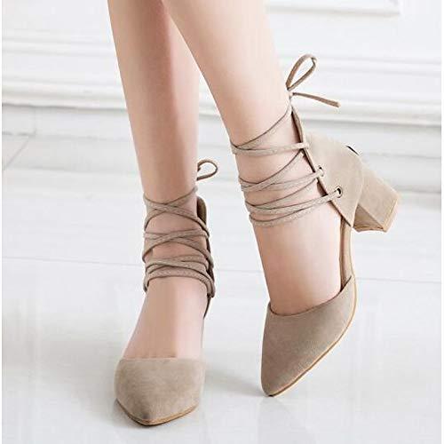 PU Shoes Comfort Polyurethane Yellow Yellow Black Pump Chunky Spring Beige Basic Women's ZHZNVX Heels Heel qUgwp5ER