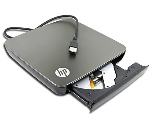 Compaq Laptop Cd Rw Drive - Genuine for HP Compaq Mini Netbook EliteBook Series Laptop External USB DVD Player Portable Optical Drive LightSrcibe Super Multi 8X DVD+-RW DL DVD-RAM Burner 24X CD-RW Writer