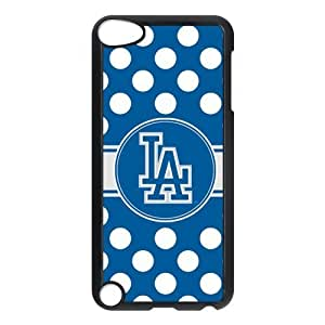 Customize MLB Los Angeles Dodgers Back Case for ipod Touch 5 JNIPOD5-1177