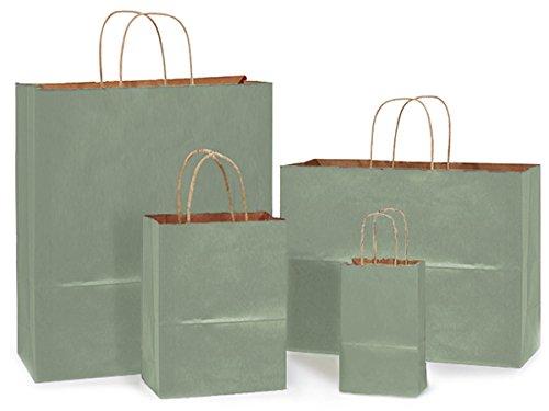 metallic-sage-kraft-100-bag-assort25-ea-rose-cub-vogue-queen-1-unit-100-pack-per-unit