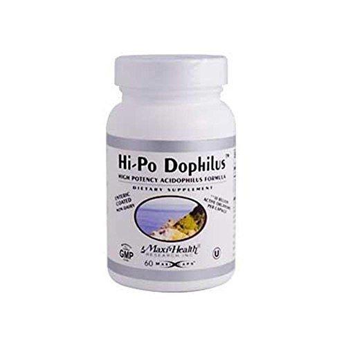 Hi Po Formula (Maxi-Health Research Hi-Po Dophilus High Potency Acidophilus Formula 60 Capsules by Maxi-Health)