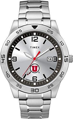 (Timex Men's University of Utah Utes Watch Citation Steel Watch)