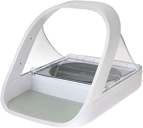 SureFlap -Sure Petcare - SureFeed - Microchip Pet Feeder - Automatic Pet Feeder Makes Meal Times Stress-Free, Suitable for Both Wet and Dry Food