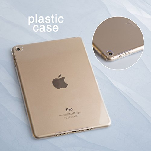GoodMoodCases Ultra Slim Plastic Protective Back Cover Case (Pink Marble) (iPad Pro 12.9 2017) by GoodMoodCases (Image #5)'