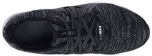 Nike Air Max Sequent 3 (GS), Zapatillas de Trail Running Para Niños Negro (Black / White / Dark Grey 001)