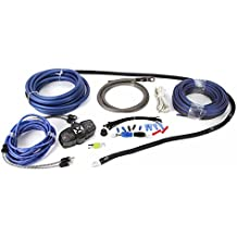 NVX 100% Copper 4-Gauge Car Amp Install Kit w/ 2-Channel RCA, Up To 1000 Watts RMS [XKIT42]