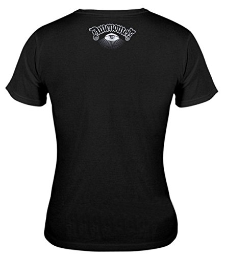 AMENOMEN t-Shirt Hardcore Pour Femmes DOMEN023 L