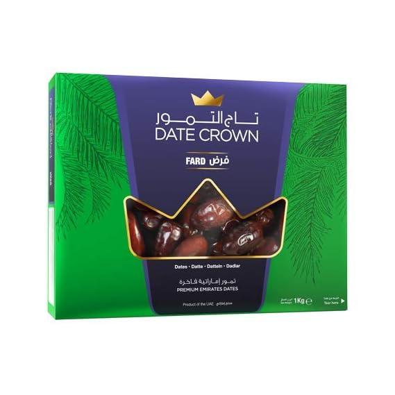 Dry Fruit Wala Date Crown Fard Dates, 1 kg
