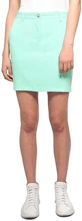J.LINDEBERG Women's Allie Micro Stretch Skirt, Black, S